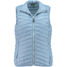 Meru Coromandel Padded Vest Damer, faded denim
